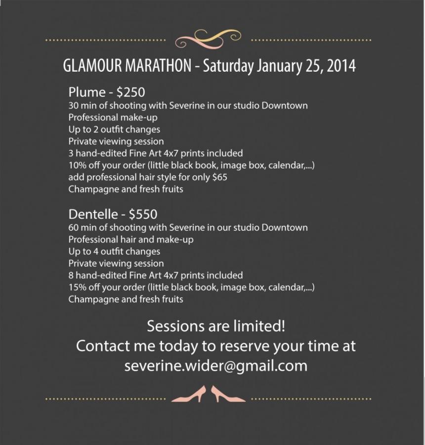 boudoir glamour marathon