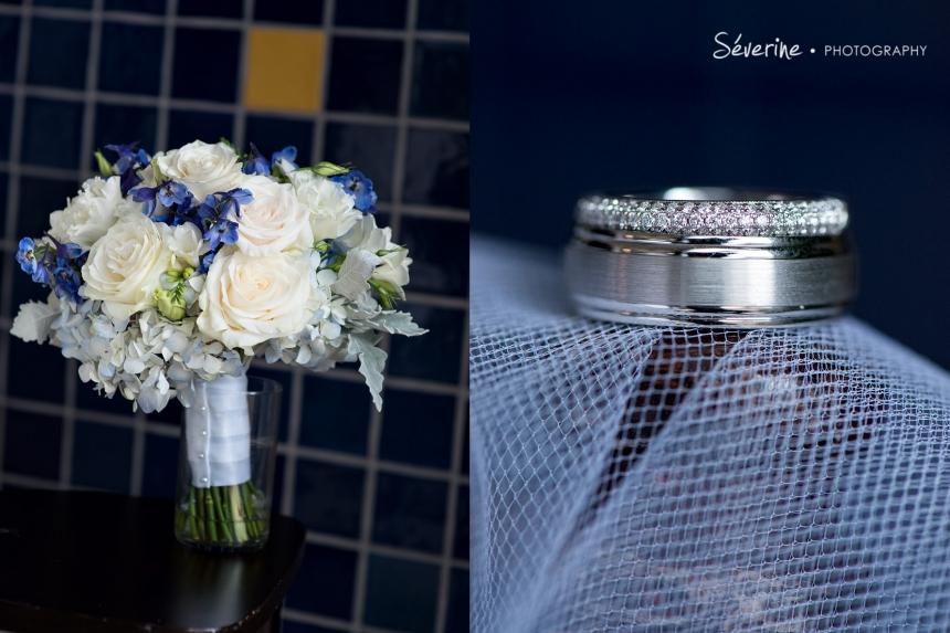Blue Theme Wedding in Casa Marina in Jacksonville